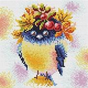"""Набор для выкладывания мозаики Brilliart (от МП Студии) """"Осенняя пташка"""""""