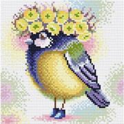 """Набор для выкладывания мозаики Brilliart (от МП Студии) """"Солнечная синичка"""""""