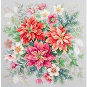 """Набор для вышивания крестом Чудесная игла """"Магия цветов. Пуансеттия"""""""