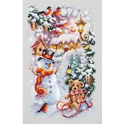 """Набор для вышивания крестом Чудесная игла """"Веселая зима"""""""