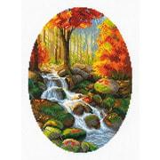 """Набор для вышивания крестом Риолис """"Краски осенней листвы"""""""