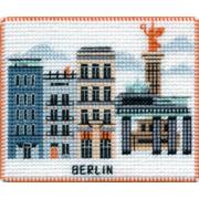 """Набор для вышивания крестом Овен """"Магнит. Столицы мира. Берлин"""""""