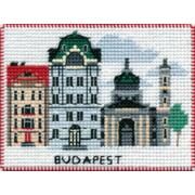 """Набор для вышивания крестом Овен """"Магнит. Столицы мира. Будапешт"""""""