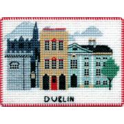 """Набор для вышивания крестом Овен """"Магнит. Столицы мира. Дублин"""""""