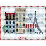 """Набор для вышивания крестом Овен """"Магнит. Столицы мира. Париж"""""""