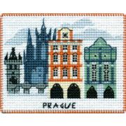 """Набор для вышивания крестом Овен """"Магнит. Столицы мира. Прага"""""""