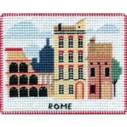 """Набор для вышивания крестом Овен """"Магнит. Столицы мира. Рим"""""""