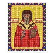 """Ткань с рисунком для вышивки бисером Nitex """"Священномученик Дионисий Ареопагит"""""""
