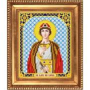 """Ткань с рисунком для вышивки бисером Благовест """"Святой Благоверный Князь (Глеб)"""""""