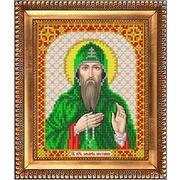 """Ткань с рисунком для вышивки бисером Благовест """"Святой Захарий"""""""