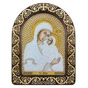 """Набор для вышивания бисером Nova sloboda """"Святая Анна с младенцем Марией"""""""