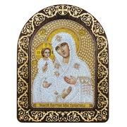 """Набор для вышивания бисером Nova sloboda """"Богородица Троеручица"""""""
