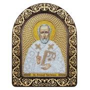 """Набор для вышивания бисером Nova sloboda """"Святой Николай Чудотворец"""""""
